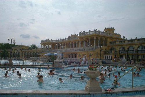 I bagni Szechenyi di Budapest