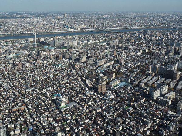 Tokyo dall'alto: il panorama dallo Skytree