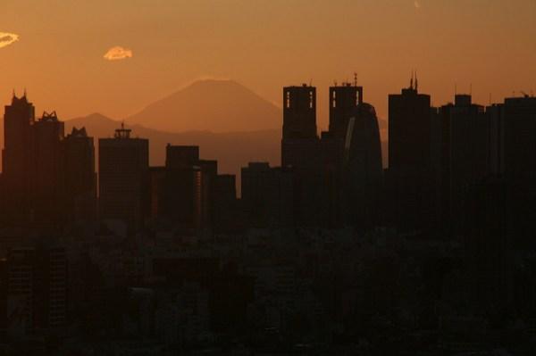 Tokyo dall'alto: il Fuji dal Bunkyo Civic Center
