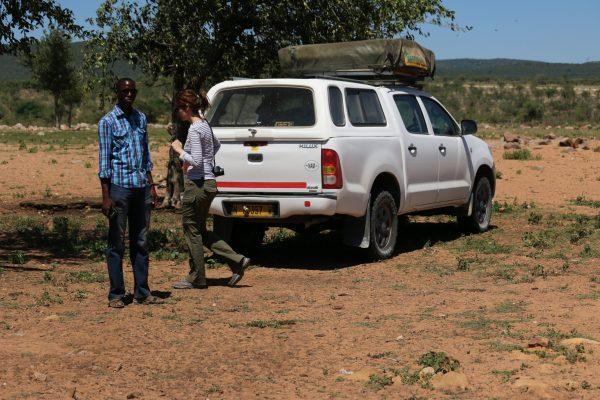 Visita al villaggio himba: Toyota Hillux