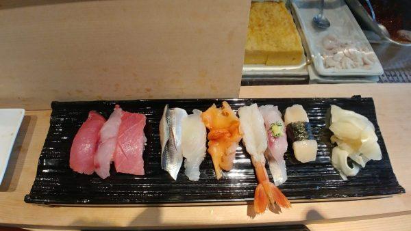 omakase ad Ichiba sushi
