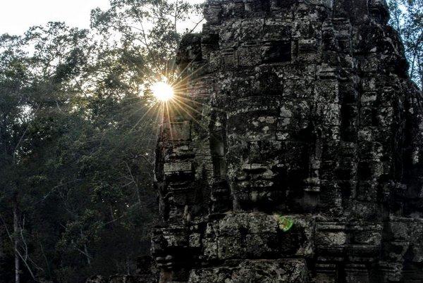 Visitare il Bayon, complesso di Angkor, Cambogia