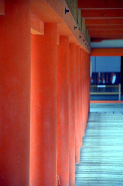 Il santuario di Itsukushima