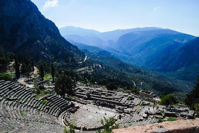 Il teatro di Delfi
