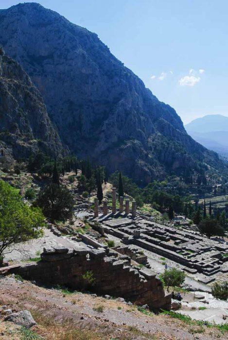 Visita a Delfi: il tempio di Apollo