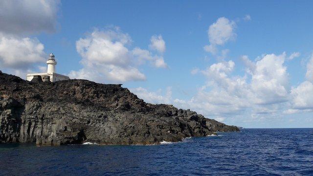 Punta Spadillo vista dal mare