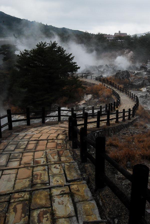 Unzen Hell, Shimabara peninsula