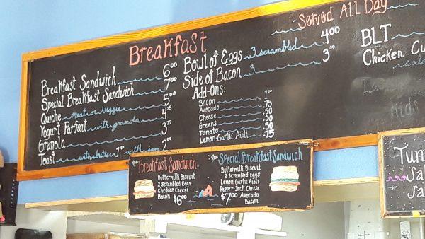 Da Devil's Teeth sono disponibili il breakfast sandwich e lo special breakfast sandwich