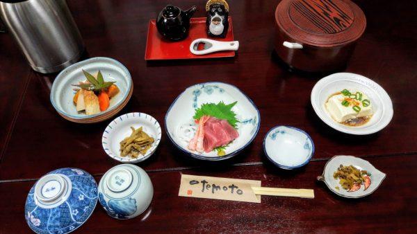Colazione tradizionale in minshuku