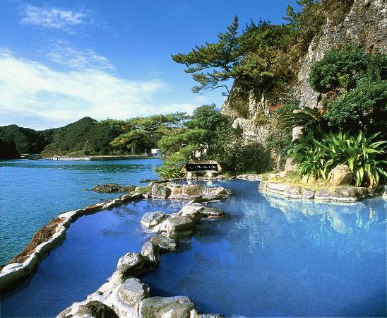 Un onsen del Nakanoshima
