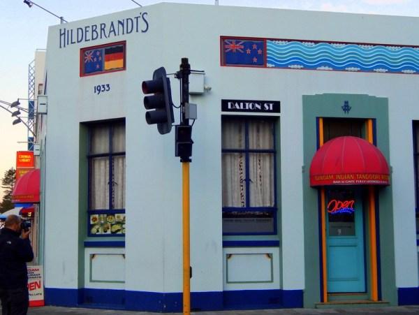 Un edificio Art Deco a Napier