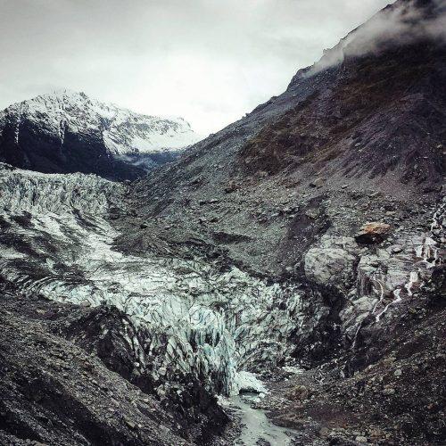 Il ghiacciaio Fox