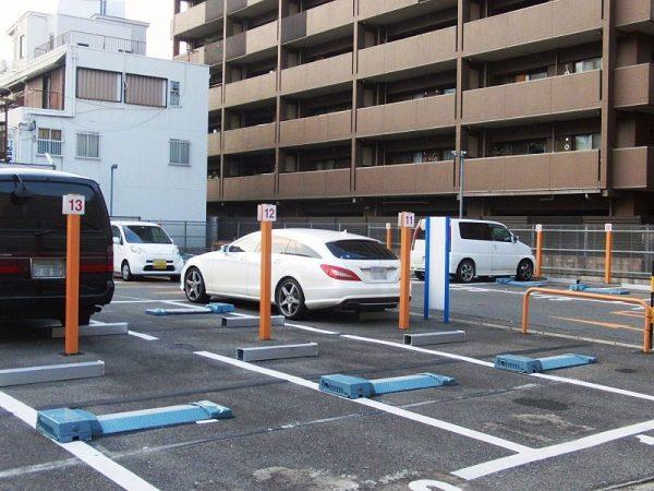 parcheggio giapponese