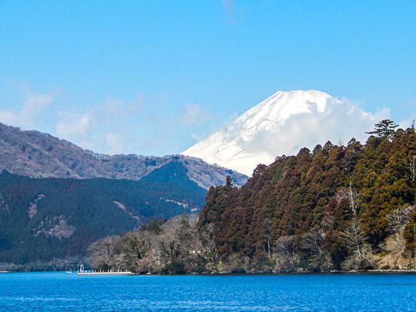 Il monte Fuji, da Hakone