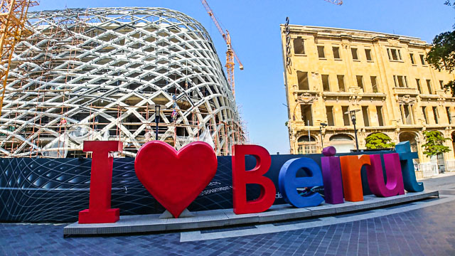 Beirut è un grande cantiere