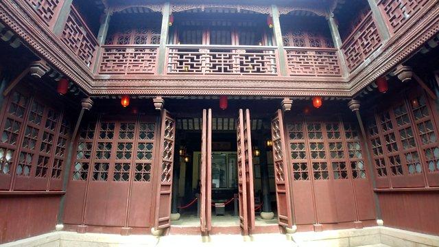 Edificio storico della Gengle Hall a Tong Li