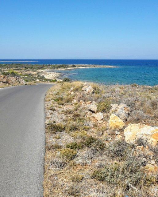 Elafonissos, ha pochi chilometri di strade