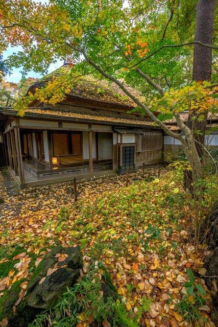 Una casa nel quartiere samurai di Kakunodate