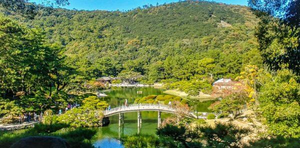 Giardino Ritsurin, Takamatsu
