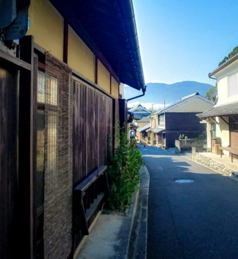 Fra le vecchie case di Uchiko