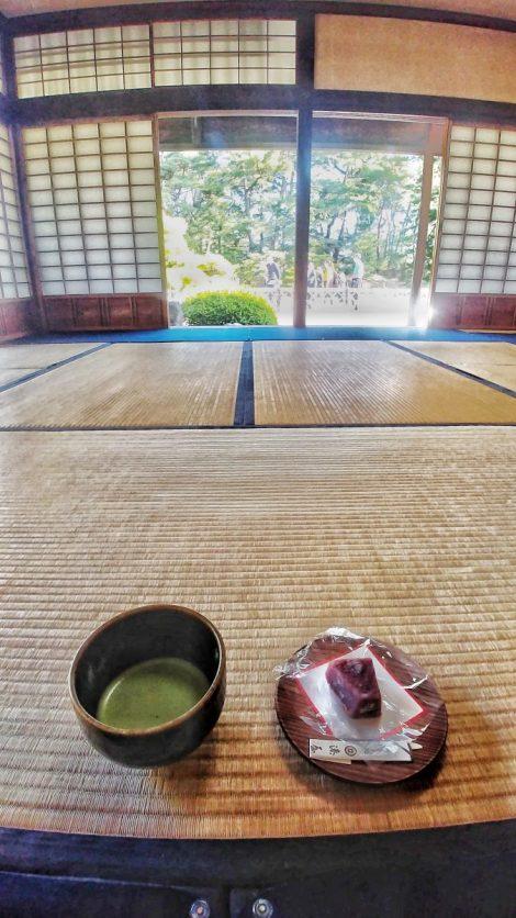 Un tè nella Kikugetsu-tei