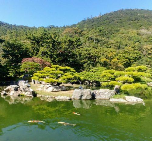Visitare il Giardino Ritsurin, Takamatsu