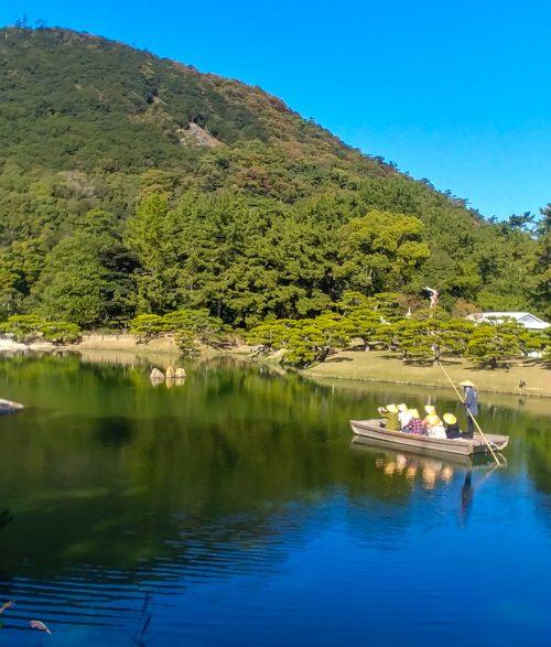 Cosa vedere a Takamatsu: il giardino Ritsurin