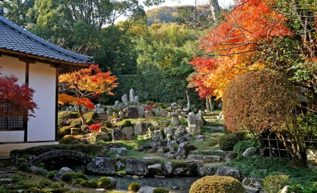 Il giardino del tempio Daitsu-ji