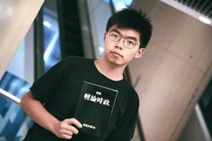 Joshua Wong, leader della protesta degli ombrelli