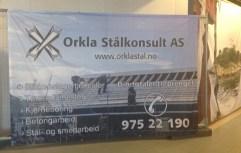 Orkla Stålkonsult as - Banner