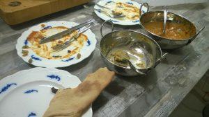 Good curry demolished