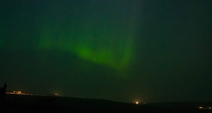 Aurora from our garden !