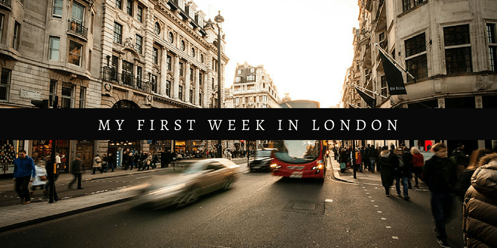 first week london