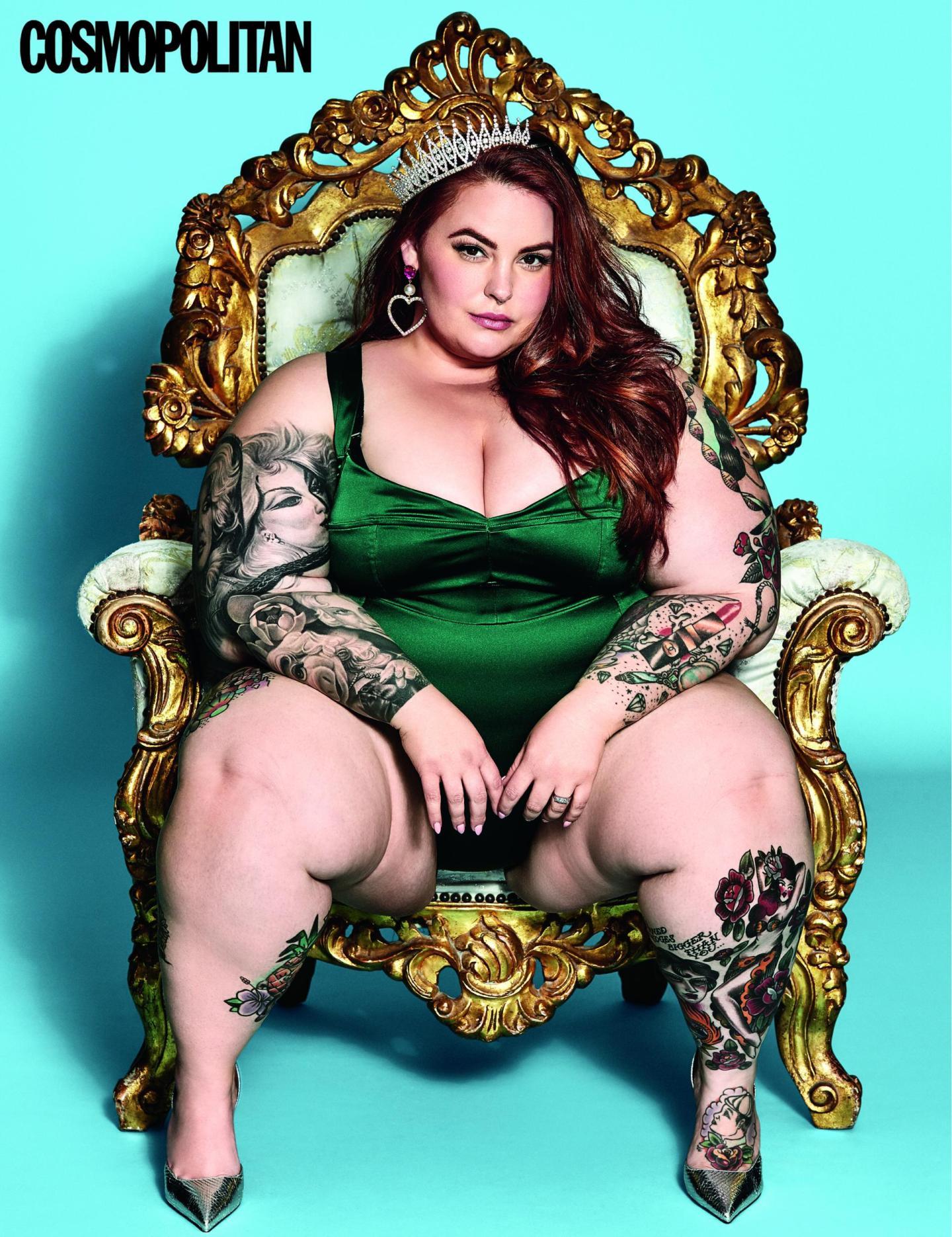 Tess Holliday Cosmopolitan Cover