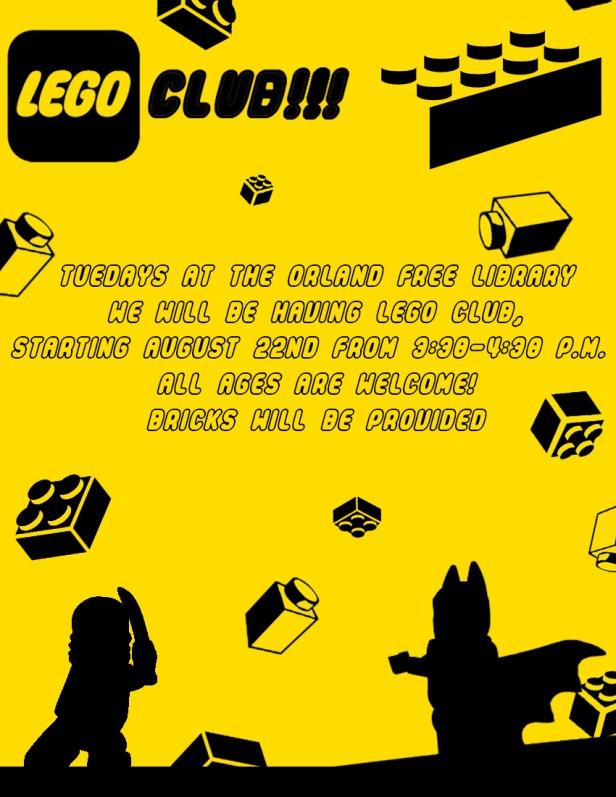 Lego Club Flyer (2)