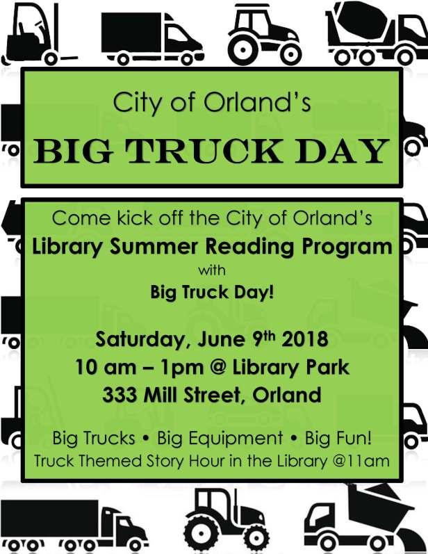 Big Truck Day Flyer