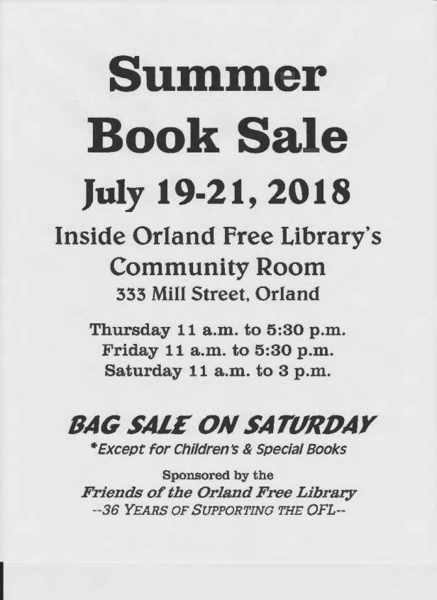 summer book sale 2018
