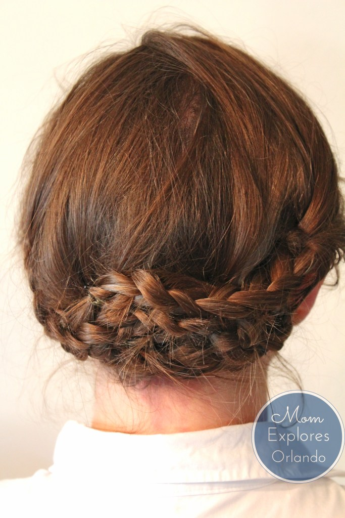 Casual Braided Updo