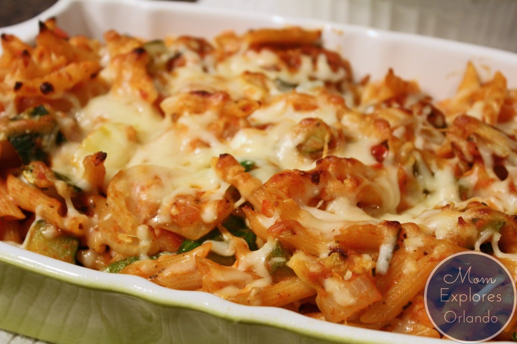 Rustic Baked Penne - sounds SO good!