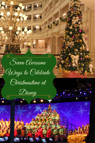 Christmas at Disney is SO much fun! These are great ideas for how to celebrate.