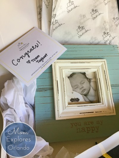 Such a cute idea for a low-key gender reveal!