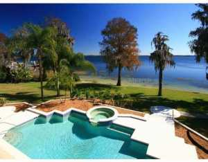 lakefront property in Orlando