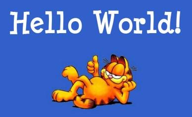 hello world garfield_the_cat orlando espinosa