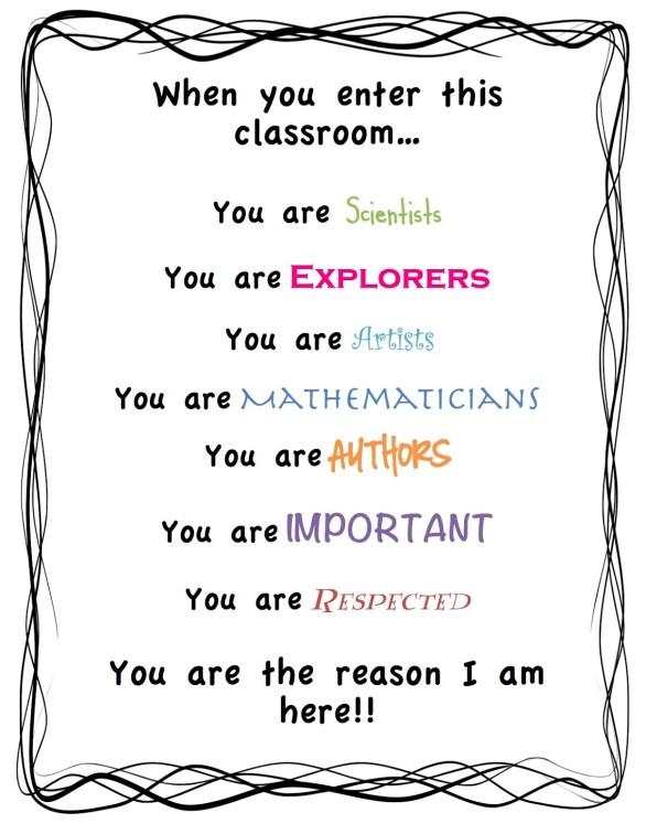 When you enter this classroom… orlando espinosa
