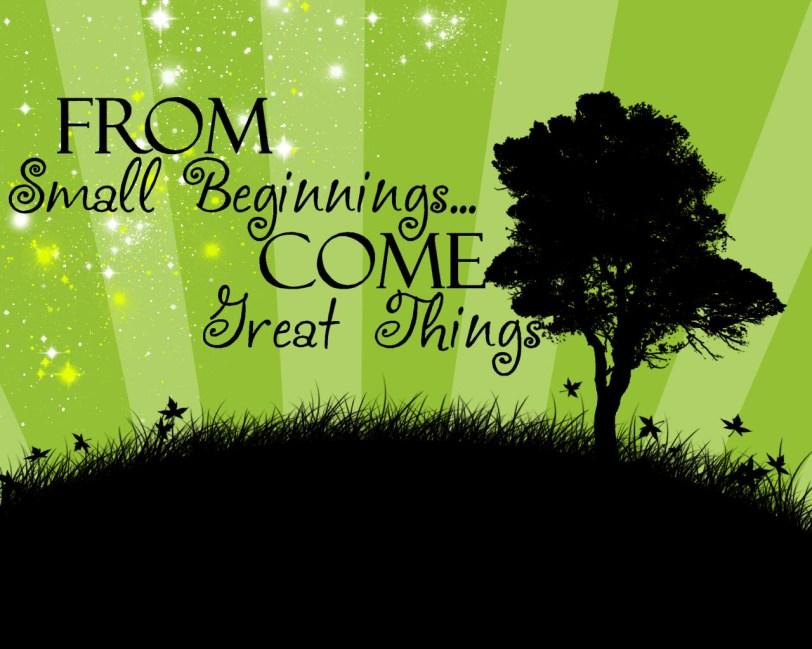 from_small_beginnings_come_great_things_orlando espinosa