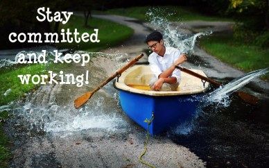 Stay committed and keep working-orlando espinosa