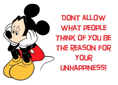 Don't be unhappy orlando espinosa