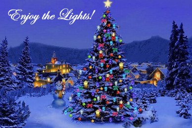 enjoy the christmas lights orlando espinosa