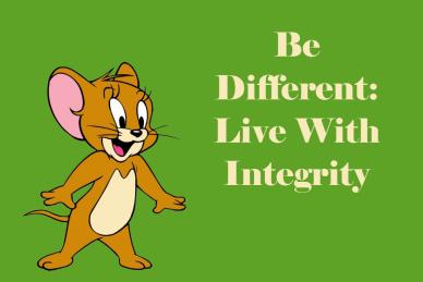 Live with Integrity orlando espinosa