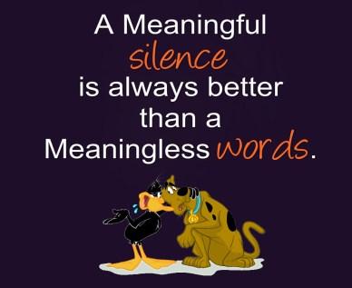 never argue meanlingless words orlando espinosa